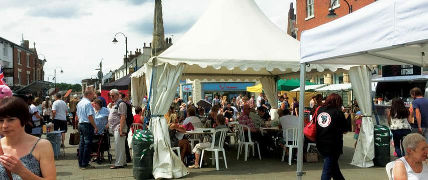 Selby Monday Market