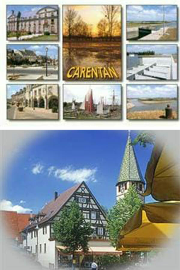Selby is twinned with two towns: Carentan in France, and Filderstadt in Germany.