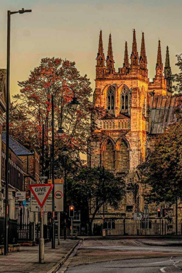 A picture of Selby Abbey