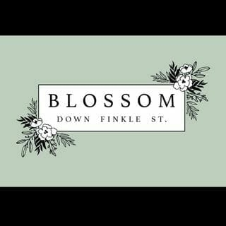 This is a picture of the Blossom Down Finkle Street logo