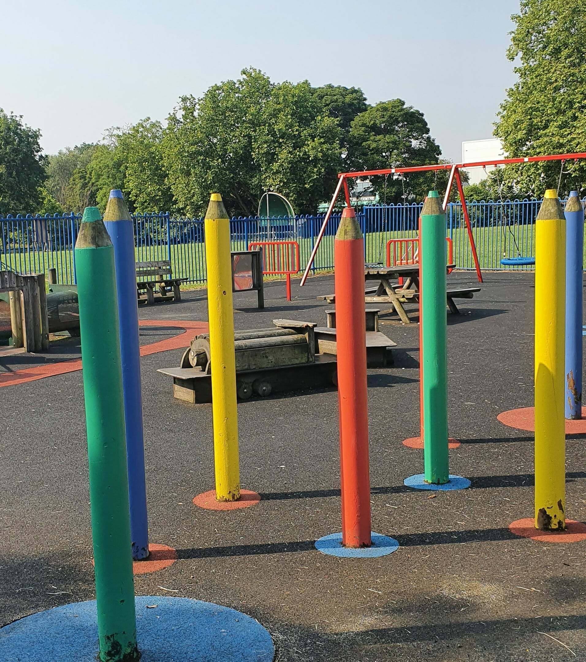Young children's play equipment
