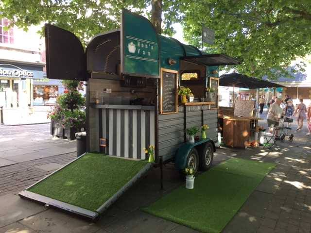Photo of Nan's Van, one of this year's traders