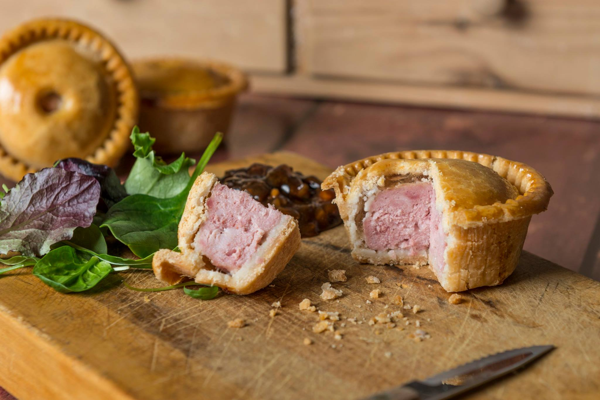This is a photo of Voakes Pork Pies